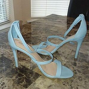 Ladies powder blue heels